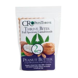 thrive bites 2mg sample pb