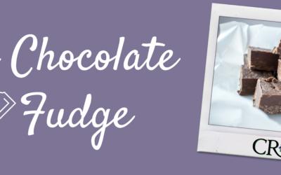 Try This: Dark Chocolate Fudge
