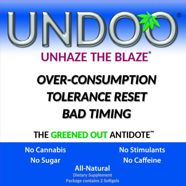 UNDOO® softgels clear your head